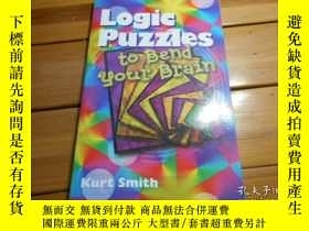 二手書博民逛書店LOGIC罕見PUZZLES TO BEND YOUR BRAI