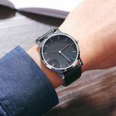 時尚手錶男士皮帶防水潮男錶正韓潮流學生非機械石英腕手錶 森雅誠品