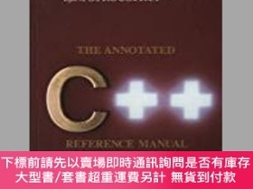 二手書博民逛書店The罕見Annotated C++ Reference Manual-註釋C++參考手冊Y414958 Ma
