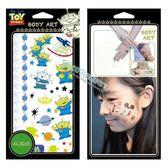 迪士尼紋身貼紙 玩具總動員 三眼怪 紋身貼紙 刺青貼紙 轉印貼紙 13三眼怪 COCOS TL045