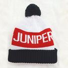 保暖針織帽子-男女提花禦寒防風雙層針織帽時尚滑雪毛線帽JUNIPER(J5109)