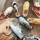 街拍小白鞋夏季港風板鞋韓版布鞋原宿百搭帆布鞋女【蘇荷精品女裝】