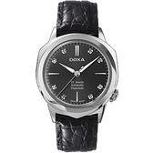 瑞士時度表DOXA-復古系列III機械腕錶      D114SBK
