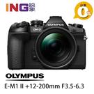 【24期0利率】送64G+副電+副充 Olympus E-M1 Mark II+12-200mm F3.5-6.3 元佑公司貨 EM1mk2
