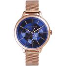 RELAX TIME 經典三眼|米蘭錶帶系列 RT-79-5 午夜藍