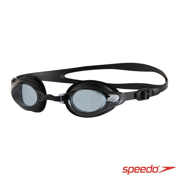 Speedo 成人 運動泳鏡 Mariner Supreme SD8113177649 黑 [陽光樂活]