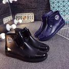 虧本衝量-雨靴 回力雨鞋男款短筒秋冬加絨雨靴低筒防滑防水時尚膠鞋水靴套鞋 快速出貨