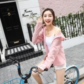 騎車防曬衣女短款薄外套潮紫外線防曬服大碼防曬衫吾本良品