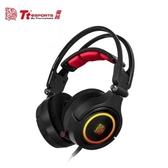 [富廉網]【Tt eSPORTS】克諾司 Riing RGB 電競耳機 (HT-CRA-DIECBK-20)