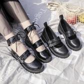 少女小皮鞋日式女jk2020新款春季黑色百搭英倫學院風瑪麗珍單鞋子