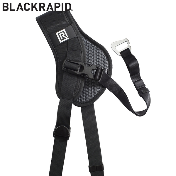 又敗家@美國BlackRapid腋下固定帶brad breathe適最酷最機動的快槍俠相機背帶Sport Left Double Binoc Backpack