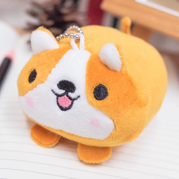 PGS7 動物系列商品 - 3.5吋 柯基 犬 娃娃 小吊飾 玩偶 小狗【SKK71681】