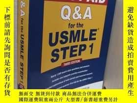 二手書博民逛書店First罕見Aid Q&A for the USMLE Step 1, Third EditionY