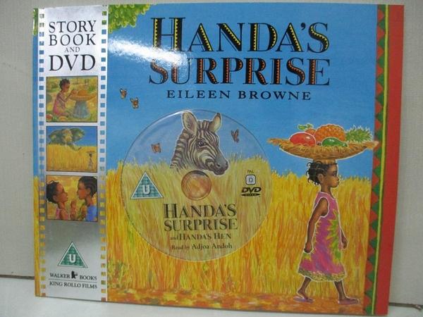 【書寶二手書T1/少年童書_DW9】Handa's Surprise_Eileen Browne