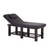 美容床 美容床美容院專用折疊按摩推拿理療美體床家用艾灸火療紋繡床免運70*185帶凳子