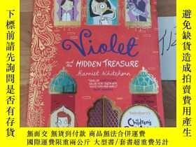 二手書博民逛書店Violet罕見and the Hidden TreasureY246207