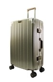26吋古典鋁框旅行箱-鈦金