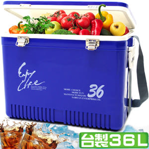 冷藏箱保溫桶保溫箱保冰袋保鮮袋保溫袋台灣製造36L冰桶36公升冰桶汽車戶外露營用品推薦哪裡買