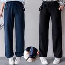 MIUSTAR 舒適側銅釦口袋抽繩縮口棉...