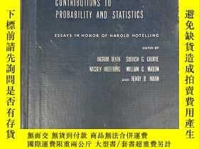 二手書博民逛書店contributions罕見to probability an