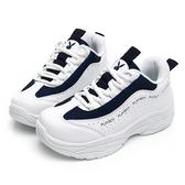 PLAYBOY活力青春流線厚底老爹鞋-白藍-Y6211