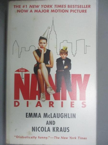 【書寶二手書T1/原文小說_GLW】The Nanny Diaries_McLaughlin