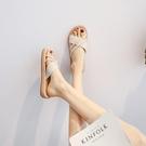2020新款涼鞋女夏季韓版時尚學生百搭仙女風ins潮網紅沙灘羅馬鞋