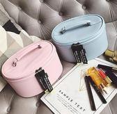 化妝包 可愛少女心化妝包女韓國大小號化妝箱便攜大容量收納包手提洗漱包