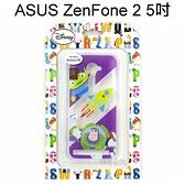迪士尼透明軟殼 ASUS ZenFone 2 ZE500CL Z00D (5吋) [最佳拍檔] 三眼怪&巴斯光年【Disney正版授權】