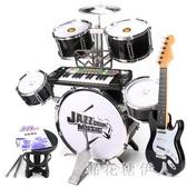 兒童架子鼓玩具初學者男女孩超大號打擊樂器敲打鼓鋼琴3-6歲1 PA10110『棉花糖伊人』