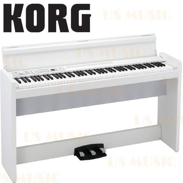 【非凡樂器】KORG LP-380 日製88鍵數位鋼琴 紳士白 / 贈琴椅.耳機.保養組 / 公司貨保固