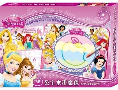 迪士尼公主 水畫魔毯 QH038A 根華 (購潮8) Disney 白雪公主 睡美人 美女與野獸 仙履奇緣 小美人魚