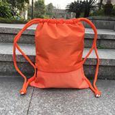 束口袋抽繩雙肩背包男女簡易雙肩包籃球袋健身運動包時尚旅行袋 挪威森林