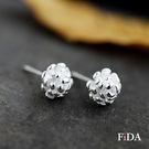 純銀 925純銀松果耳環  -FiDA