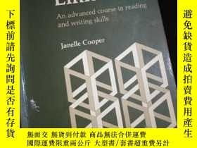 二手書博民逛書店Think罕見and Link An advanced course in reading and writing