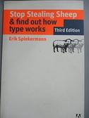 【書寶二手書T7/藝術_CGN】Stop Stealing Sheep & Find Out How Type Work
