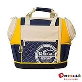 DaisukiCS02雙露頭後背寵物袋(L)CS02-LDB-藍黃(L)
