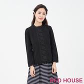【RED HOUSE 蕾赫斯】蕾絲上衣(共2色)