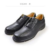 Waltz-「MIT」荔紋真皮紳士鞋 514041-02黑
