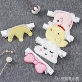 嬰兒童吸汗巾寶寶純棉墊背巾刺繡加大號幼兒園隔汗巾0-1-3-4-6歲「安妮塔小鋪」