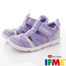 IFME健康機能鞋 輕量洞洞水鞋款 ZE11902紫(中小童段)