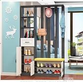 屏風進門隔斷櫃鞋櫃一體間廳櫃客廳裝飾置物架玄關櫃 【全館免運】