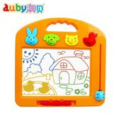 幼兒童畫板大號彩色磁性寫字板寶寶小黑板早教玩具1-2-3-4歲【快速出貨八折優惠】