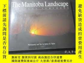 二手書博民逛書店The罕見Manitoba Landscape:Avisual