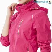 沖鋒衣女單層薄款防風外套透氣登山服