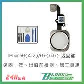【刀鋒】iPhone6(4.7)/6+(5.5) 返回鍵 HOME鍵 指紋辨識 維修手機 零件 贈拆機工具