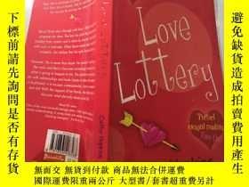 二手書博民逛書店love罕見lottery 愛情彩票Y200392