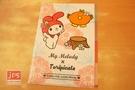 My Melody × toripicals 美樂蒂 熱帶水果鳥 三層文件夾 資料夾  KRT-215600