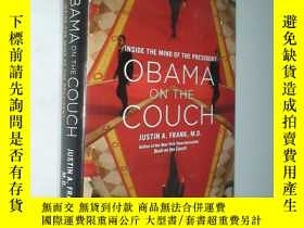 二手書博民逛書店OBAMA罕見ON THE COUCH INSIDE THE M
