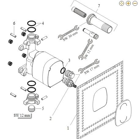 【麗室衛浴】德國 HANSGROHE axor starck 10651 龍頭零件 目錄及保養手冊